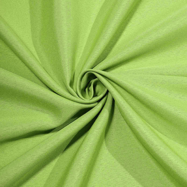 "60""x126"" Apple Green Polyester Rectangular Tablecloth"