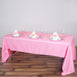 "60x126"" Polyester Tablecloth - Pink"