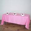 "72x120"" Polyester Tablecloth - Pink"