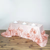 "90""x156"" Rose Gold 