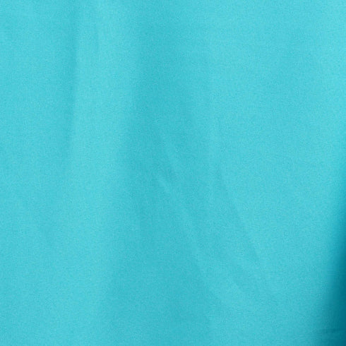 "90x156"" Turquoise Polyester Rectangular Tablecloth"
