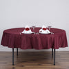 90 inches BURGUNDY Wholesale Polyester Round Tablecloth For Wedding Banquet Restaurant