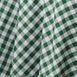 Buffalo Plaid Tablecloth | 120 Round | White/Green | Checkered Gingham Polyester Tablecloth
