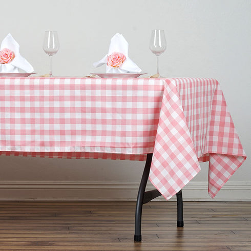 "Buffalo Plaid Tablecloth | 60x102"" Rectangular 