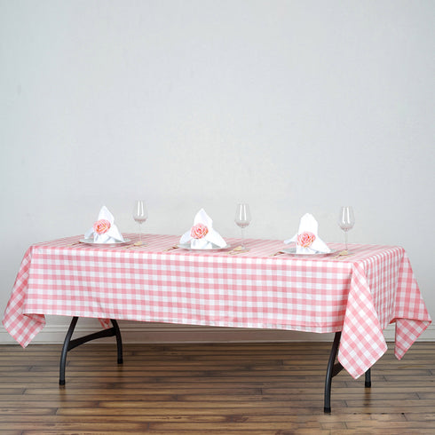"Buffalo Plaid Tablecloths | 60x102"" Rectangular 