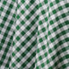 Perfect Picnic Inspired Checkered 60x102 Polyester Tablecloths White / Green