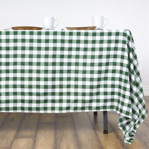 "Buffalo Plaid Tablecloths | 60x126"" Rectangular 