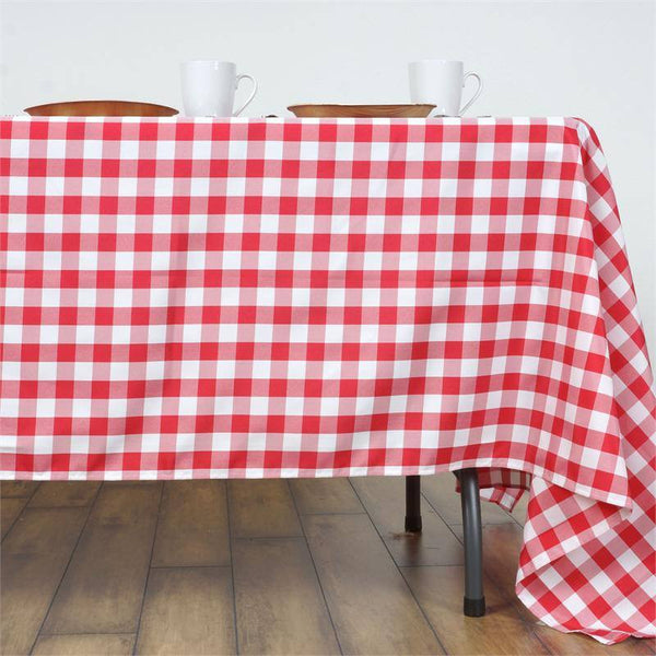 "Buffalo Plaid Tablecloth | 60""x126"" Rectangular 