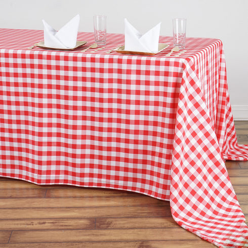 "Buffalo Plaid Tablecloth | 90""x156"" Rectangular 