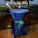 Royal Blue Cocktail Spandex Table Cover