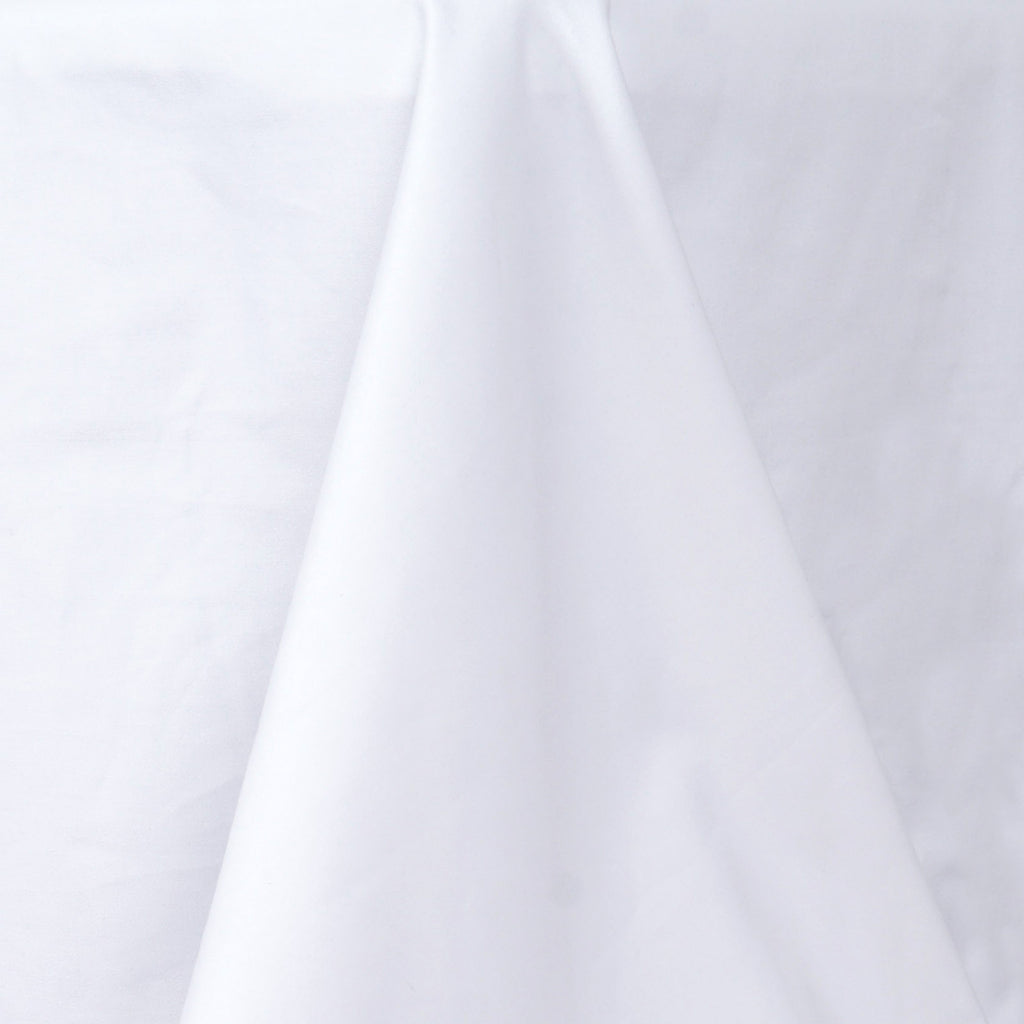 "Chambury Casa *100% Cotton Tablecloth - 90x132"" White"
