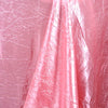 60x102 Rose Quartz Crinkle Crushed Taffeta Rectangular Tablecloth
