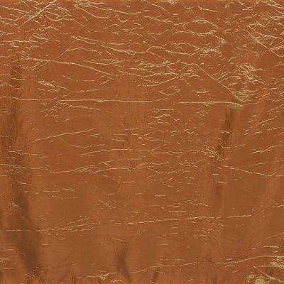 "Gold 90x132"" Crinkle Taffeta Tablecloths"