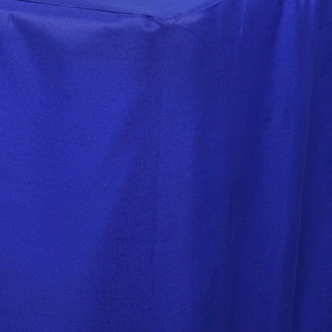 Royal Blue Fitted 8 Feet Tablecloths EFavorMart