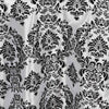 "120"" Round Flocking Damask Tablecloths"