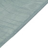 60x102 Dusty Blue Linen Rectangular Tablecloth, Slubby Textured Wrinkle Resistant Tablecloth