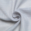 "60x126"" Silver Premium Faux Linen Rectangular Tablecloth, Slubby Textured Wrinkle Free Tablecloth"