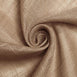 90x132 inch Natural Premium Faux Linen Rectangular Tablecloth