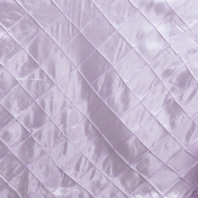 "Lavender Pintuck Tablecloths 132"" Round"