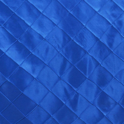 "Royal Blue 90x132"" Pintuck Tablecloths"