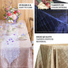 "90"" x 156"" Navy Blue Taffeta Pintuck Rectangular Tablecloth"