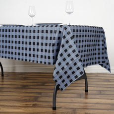 "54"" x 72"" Silver 