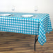 "Buffalo Plaid Tablecloth | 54"" x 72"" Rectangular Spill Proof Tablecloths 