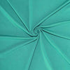 6FT Teal Rectangular Stretch Spandex Tablecloth