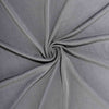 8FT Charcoal Gray Rectangular Stretch Spandex Tablecloth#whtbkgd