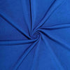 8 FT Royal Blue Rectangular Stretch Spandex Tablecloth