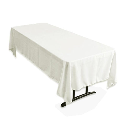 "Tuscany-Inspired *250gsm Tablecloth - 60x126"" Ivory"