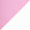 70 inch Pink Premium Square Polyester Tablecloth