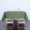 70inch Moss Green Square Polyester Tablecloth