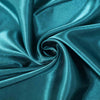 "108"" Teal Satin Round Tablecloth#whtbkgd"