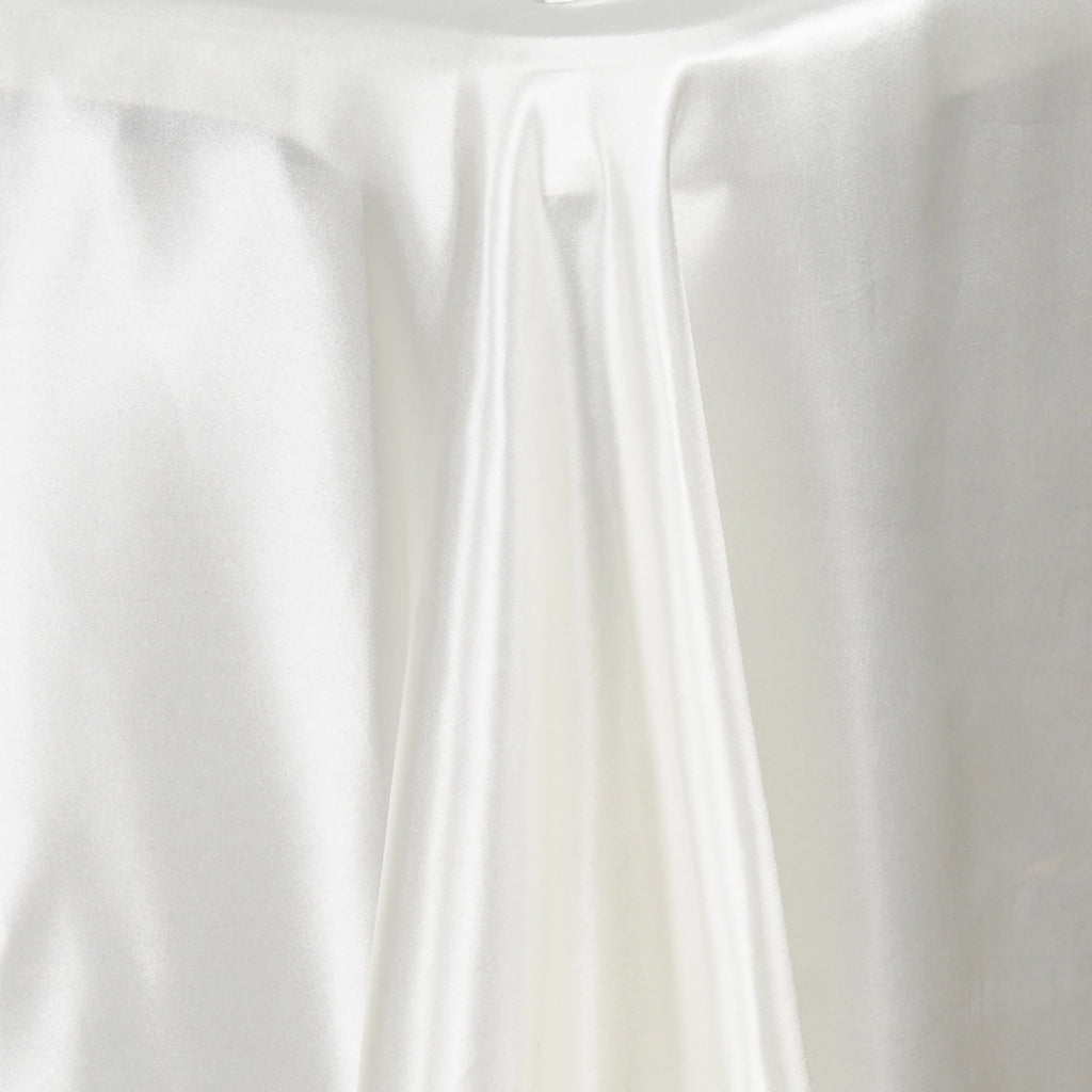 "50x120"" IVORY Wholesale SATIN Banquet Linen Wedding Party Restaurant Tablecloth"