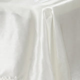 "60x102"" IVORY Wholesale SATIN Banquet Linen Wedding Party Restaurant Tablecloth"