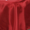 60x126 Wine Satin Rectangular Tablecloth