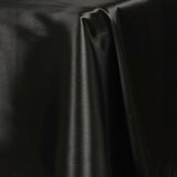 "60x126"" BLACK Wholesale SATIN Banquet Linen Wedding Party Restaurant Tablecloth"