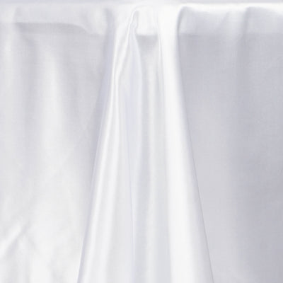 "72x120"" WHITE Wholesale SATIN Banquet Linen Wedding Party Restaurant Tablecloth"