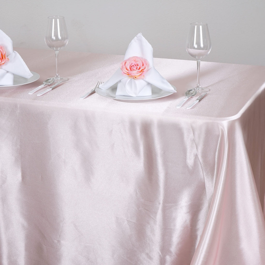 90x132-034-Rectangle-Satin-Tablecloth-For-Wedding-Party-Banquet-Events-Decoration thumbnail 8