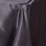 "90x156"" Charcoal Gray Satin Rectangular Tablecloth"