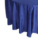 "120"" Premium Velvet Round Tablecloth - Royal Blue"