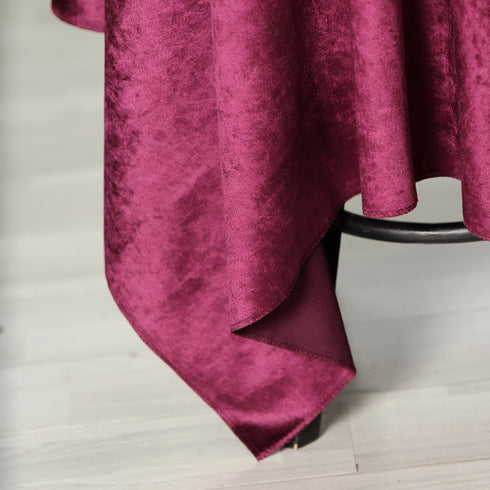 54'' x 54'' | Purple | Premium Velvet Square Tablecloth