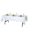 "60"" x 90"" Clear 10 Mil Thick Eco-friendly Vinyl Waterproof Tablecloth PVC RectangleDisposable Tablecloth"