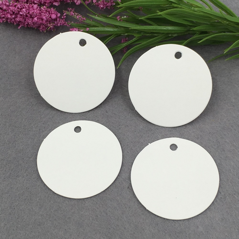 Set of 100 | Printable Round Shaped Favor Gift Tags