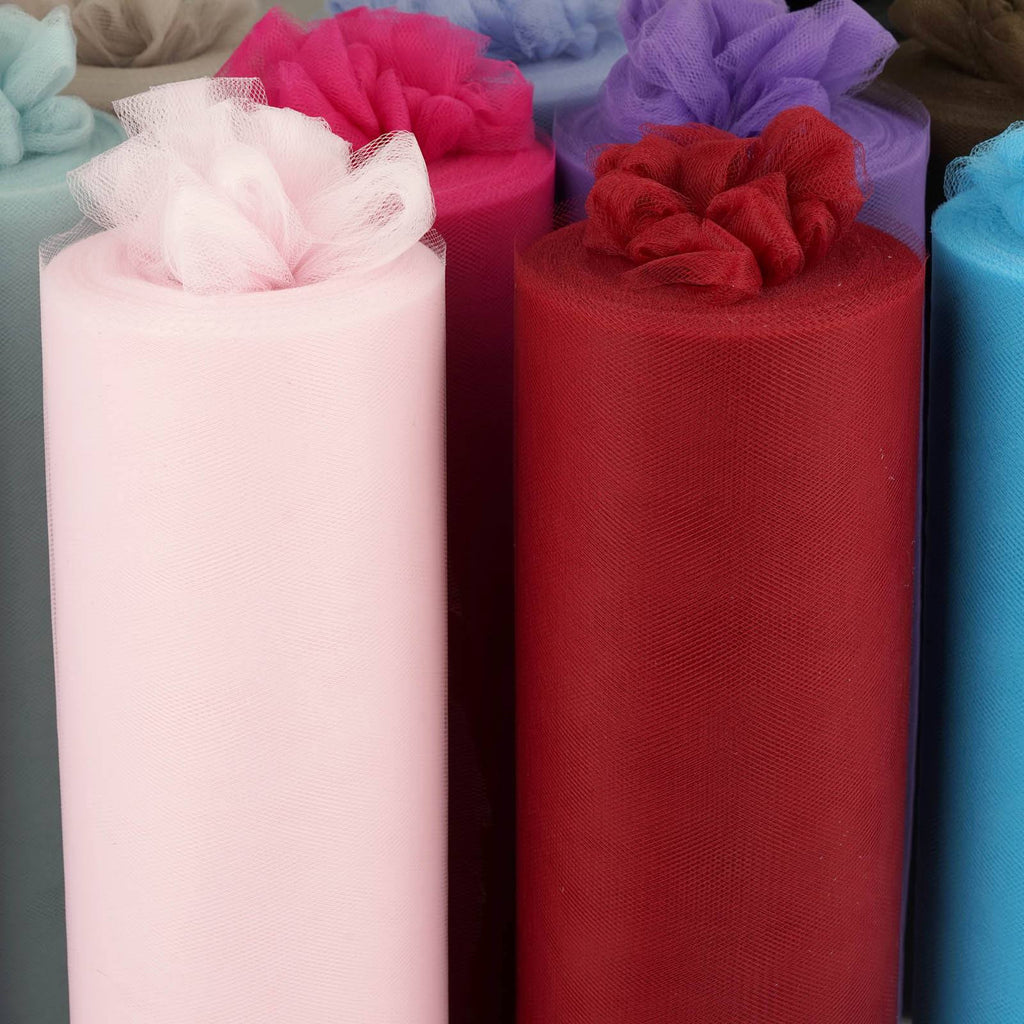 "12""x100yd Tulle Rolls - Chocolate"