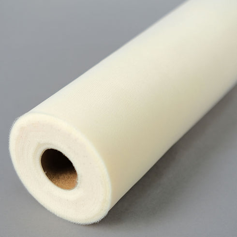 "12""x100yd Tulle Rolls - Ivory"