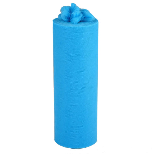"12""x100yd Turquoise Tulle Rolls"