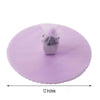 "25 Pack | 12"" Lavender Scalloped Tulle Organza Circles for Wedding Favours"