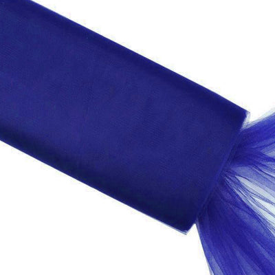 "54""x40 Yards Royal Blue Tulle Fabric Bolt Wedding Drape Panel Stage Decor"